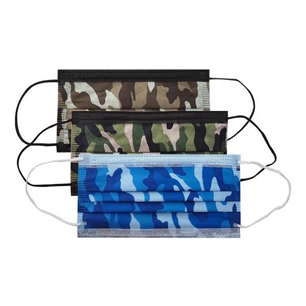 普惠 成人平面醫用口罩(25入)沙漠迷彩/叢林迷彩/海洋迷彩 款式可選【小三美日】 MD雙鋼印