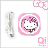 Hello  Kitty 迷你無線充電板-粉