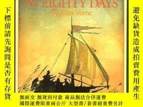 二手書博民逛書店Around罕見the World in Eighty Days