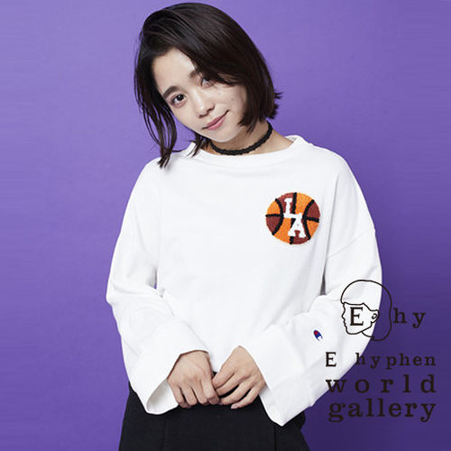 ❖ Champion ❖ Champion聯名款-棒球LOGO刺繡休閒上衣 - E hyphen world gallery