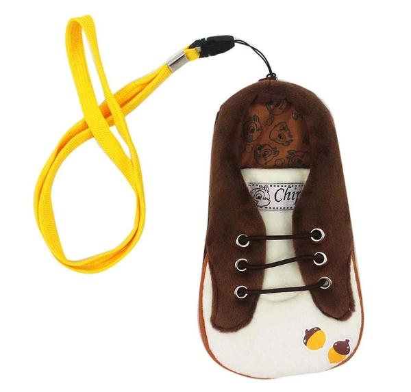 【卡漫城】 Chip 深色 絨毛 手機袋 ㊣版 保護袋 4.7吋 票卡包 MP3 悠遊卡 奇奇蒂蒂 Dale 花栗鼠 松鼠