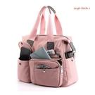 側背包。超輕量大容量多口袋防潑水尼龍斜背包手提包 (SBA0368) AngelNaNa