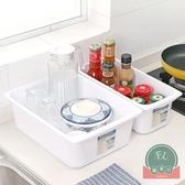 2個裝 冰箱抽屜收納盒食物盒收納盒整理箱【福喜行】