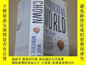 二手書博民逛書店WHAT罕見A WONDERFUL WORLDY10206 IS