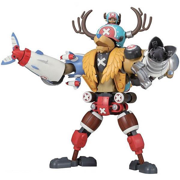 航海王 海賊王 BANDAI組裝模型 喬巴機器人 五機合體