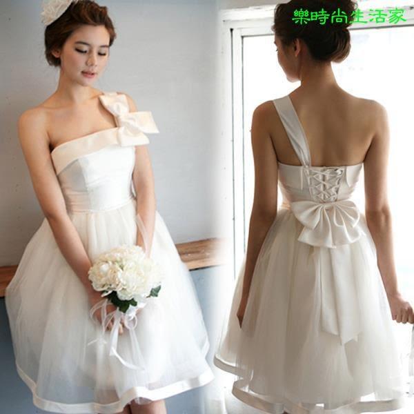 2017結婚伴娘禮服 短款禮服連衣裙CA000