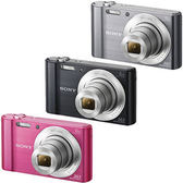 SONY DSC-W810 數位相機 ★贈8G卡+電池(共2顆)+原廠包+保護貼+小腳架+清潔組+讀卡機大全配