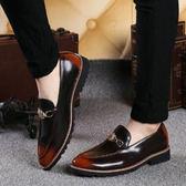 皮鞋   樂福鞋 內增高商務休閒鞋 (KS0014) ★MagicMan★預購