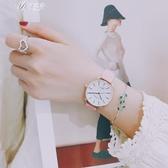 原宿風手錶女學生韓版簡約休閒大氣復古文藝小清新潮流伊芙莎
