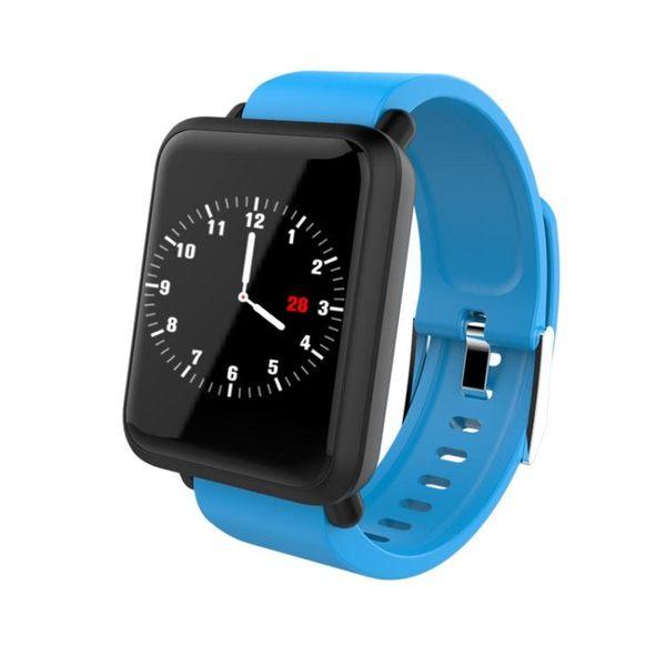 智慧手錶 8色 支援LINE智能手環M281.3寸彩屏IP67專業防水心率血壓監測控制-小精靈生活館