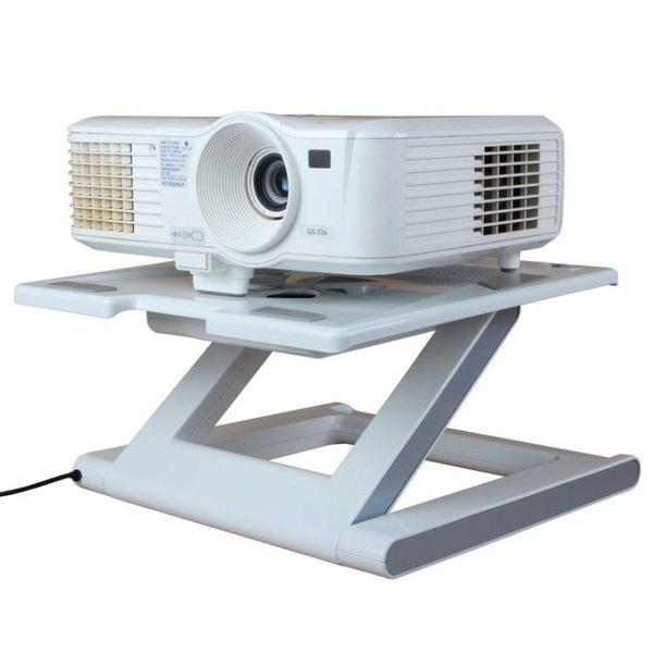【免運】投影機支架 C8投影儀支架桌面通用架子托盤托架微型床頭桌腳架落地底座