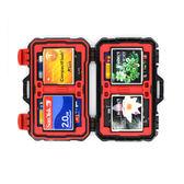 ◎相機專家◎ Backpacker 記憶卡盒 CF SD MicroSD TF 多合一記憶卡盒 内存卡收纳盒 KH-10