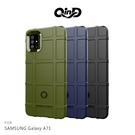 【愛瘋潮】QinD SAMSUNG Galaxy A71 戰術護盾保護套 背蓋式 手機殼 鏡頭加高 保護套 手機殼