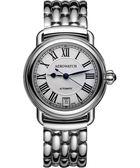 AEROWATCH 經典扭索時尚機械腕錶-銀 A60922AA01M