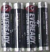 黑貓碳鋅電池4號4入