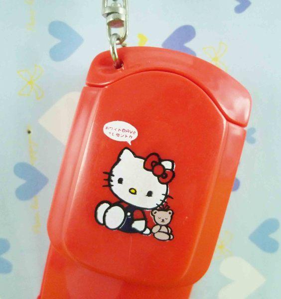 【震撼精品百貨】Hello Kitty 凱蒂貓~吊飾手電筒~紅【共1款】