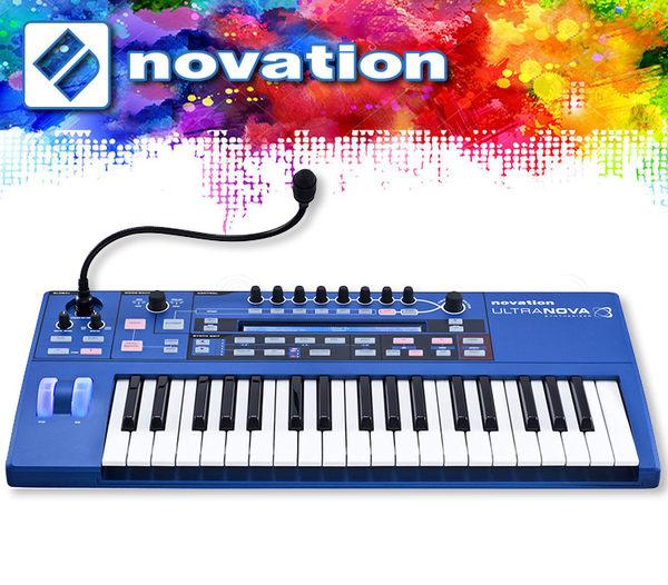【小麥老師 樂器館】好禮贈送!Novation Ultranova Synthesizer 數位合成器