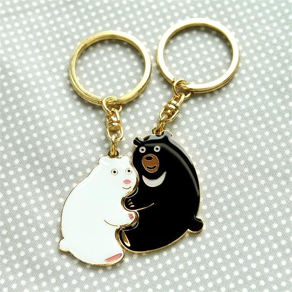 Perfect Together 鑰匙圈-北極熊與台灣黑熊【MIIN GIFT】