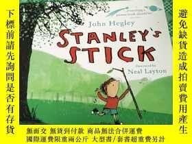 二手書博民逛書店少兒繪本故事罕見Stanleys Stick 斯坦利的棍子 (平裝,20開)Y246081 John Hegl