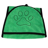 寵物吸水毛巾洗澡巾狗狗貓咪手套式浴巾【匯美優品】