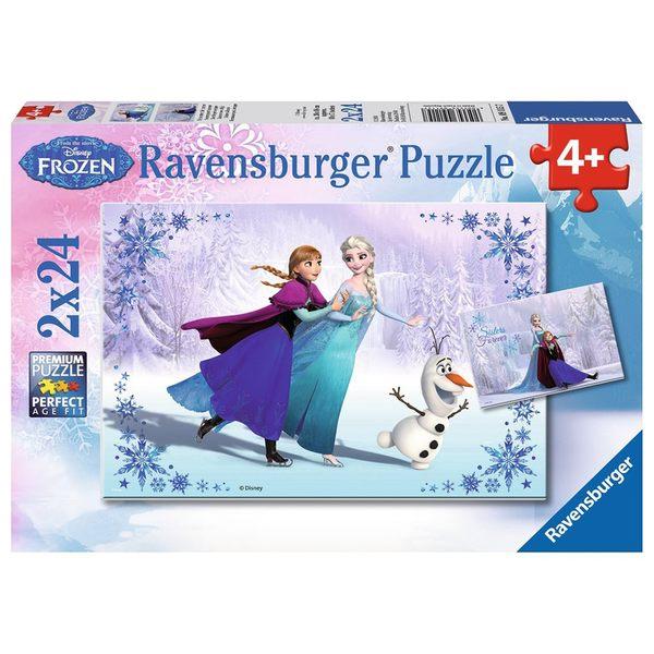 德國Ravensburger維寶全景拼圖 冰雪奇緣II (2*24P)_RV09115