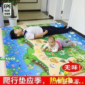 加厚寶寶爬行墊泡沫地墊客廳臥室嬰兒童鋪地板拼接大拼圖墊子家用 igo全館免運