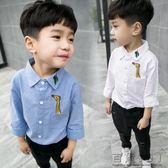 韓版男兒童裝潮寶寶時尚翻領襯衫