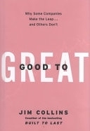 二手書博民逛書店《Good to Great: Why Some Companies Make the Leap...And Others Don t》 R2Y ISBN:0066620996