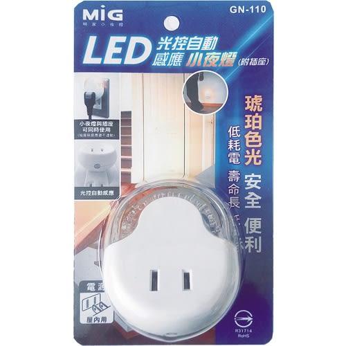 明家 LED感應小夜燈GN-110【愛買】