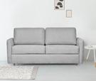 【歐雅居家】法格鋼骨布沙發床-三人座-淺灰 / 沙發 / 布沙發 /三人沙發 / 12層內材