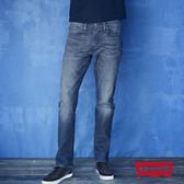 [買1送1]Levis 男款 511低腰修身窄管牛仔長褲 / 重磅 / 赤耳 / 復古洗色 / 彈性布料