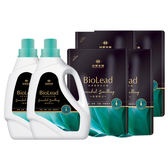 《台塑生醫》BioLead經典香氛洗衣精 璀璨時光*(2瓶+4包)