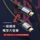 Baseus倍思 視享4KHD高清同屏轉換線 HDMI轉接線 HDMI線 視訊線(0.5m-1m)