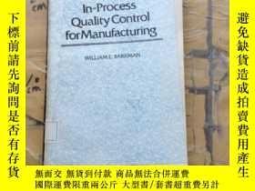 二手書博民逛書店In-Process罕見Quality Control for