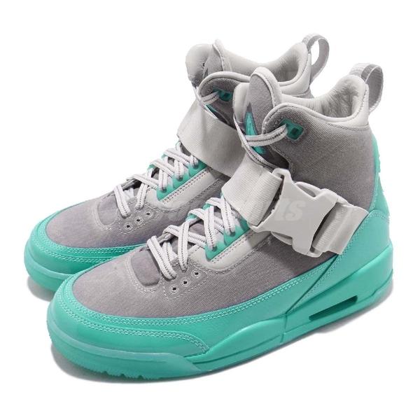 Nike Wmns Air Jordan 3 EXPLR XX NRG 灰 綠 薄荷綠 高筒 運動鞋 女鞋【PUMP306】 BQ8463-003