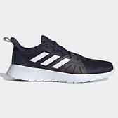 Adidas ASWEERUN 2.0 男鞋 慢跑 休閒 軟底 透氣 輕量 深藍【運動世界】FW1682