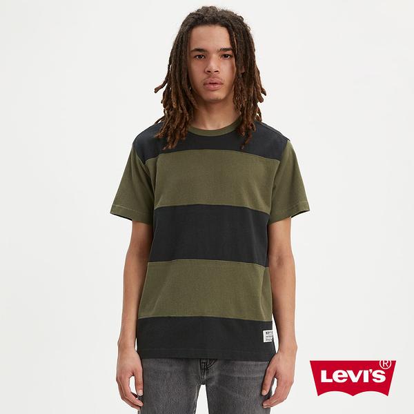 Levis 男款 短袖T恤 / Mighty Made厚棉 / 復古學院風