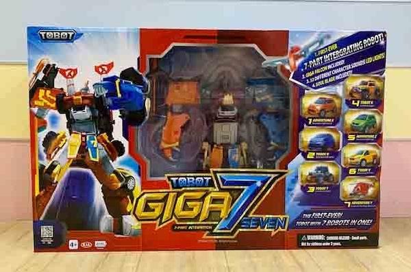 【震撼精品百貨】機器戰士TOBOT~TOBOT 機器戰士GIGA 7SEVEN #01050
