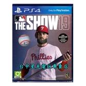附特典【PS4原版片】☆ 美國職棒大聯盟19 MLB19 THE SHOW19 ☆英文版全新品【台中星光電玩】