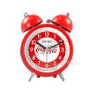 SEIKO 精工 / 可口可樂 滑動式秒針 貪睡鬧鈴 雙鈴鬧鐘 - 紅色 #QHK905R