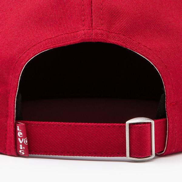 Levis 男女同款 可調式環釦棒球帽 / 精工Serif Logo刺繡