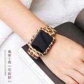 蘋果印花硅膠手表帶apple watch1/2/3/4代男女38mm42潮i