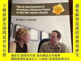 二手書博民逛書店The罕見Mentor Program Kit: Step-by-Step Guidelines for Deve