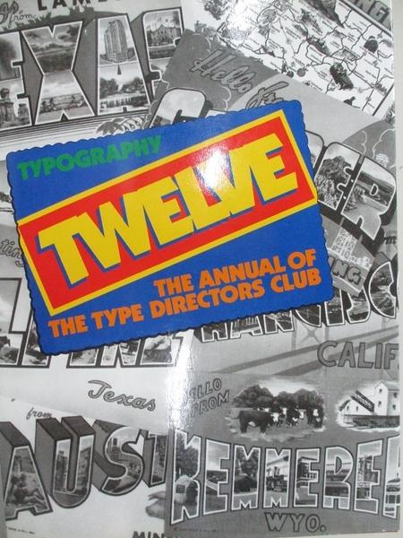 【書寶二手書T4/廣告_EHX】Typography 12_Type Directors Club