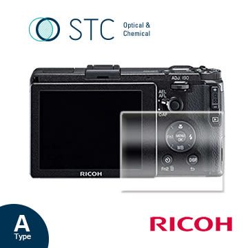 【STC】9H鋼化玻璃保護貼 - 專為Ricoh GR / GRII 觸控式相機螢幕設計
