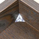 透明水晶衣櫃死角防塵粒 50入組 透明防塵角 櫥櫃防塵角 衣櫃死角防塵粒