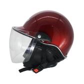 機車頭盔男女士電動車半覆式冬季防霧四季通用安全帽 萬客城
