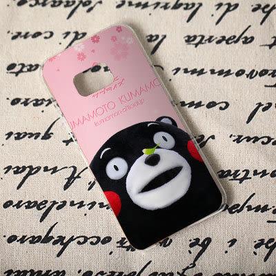 [機殼喵喵] Samsung Galaxy Note 7 5 4 3 2 1 手機殼 外殼 客製化 水印工藝 307 九州熊 熊本熊
