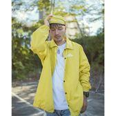 KID ® 自收納機能教練外套 黃