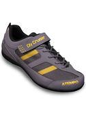 【ATEMPO】UCG都會風 公路車卡鞋 男款 灰黃色 玻纖踏片/LOOK/卡踏